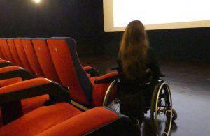 disabili al cinema