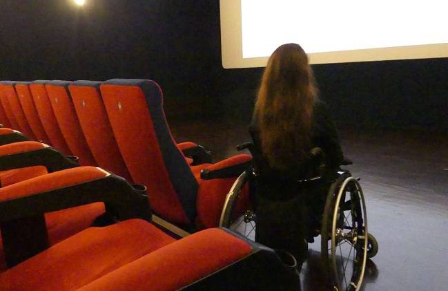 disabili al cinema