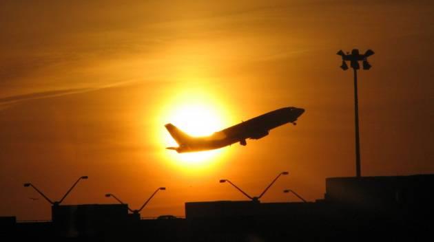 volare all'alba