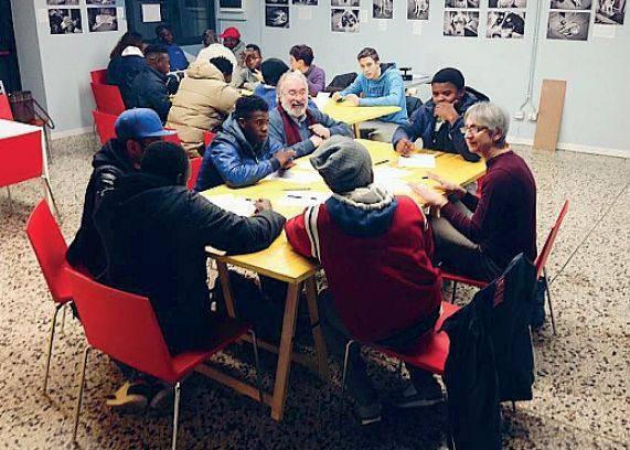corsi per i profughi
