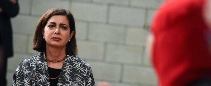 Laura Boldrini parla di sciopero della fame
