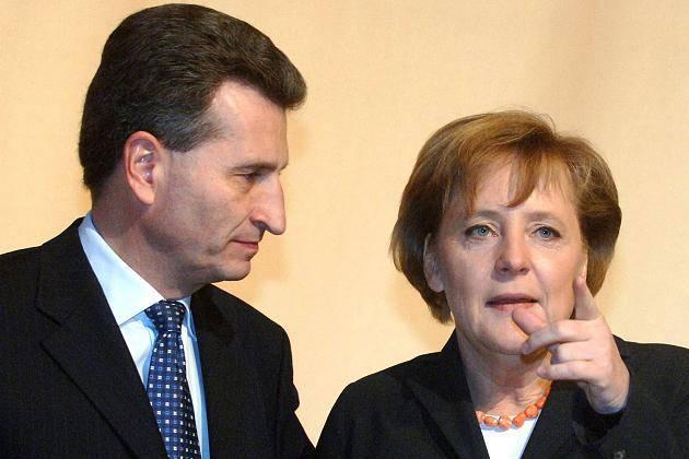 Oettinger provoca l'Italia