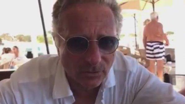 Paolo Bonolis in ospedale per il figlio di Elena Santarelli