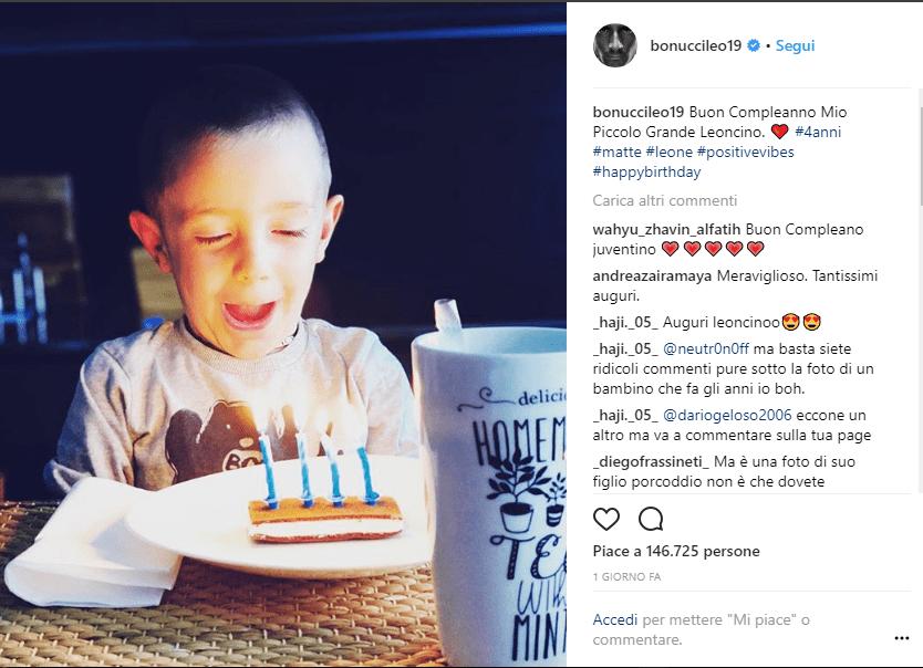 Matteo Bonucci il compleanno