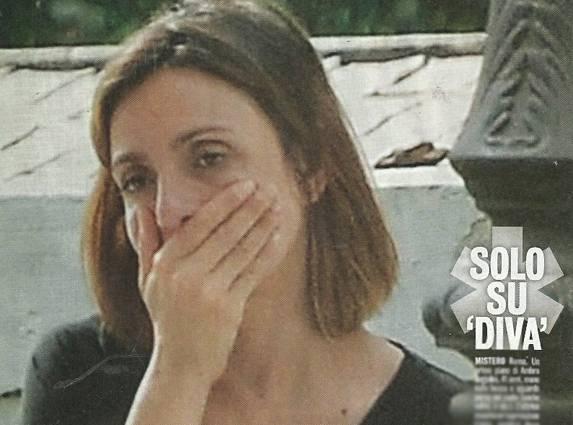 Ambra Angiolini, il pianto per la mamma di Max Allegri