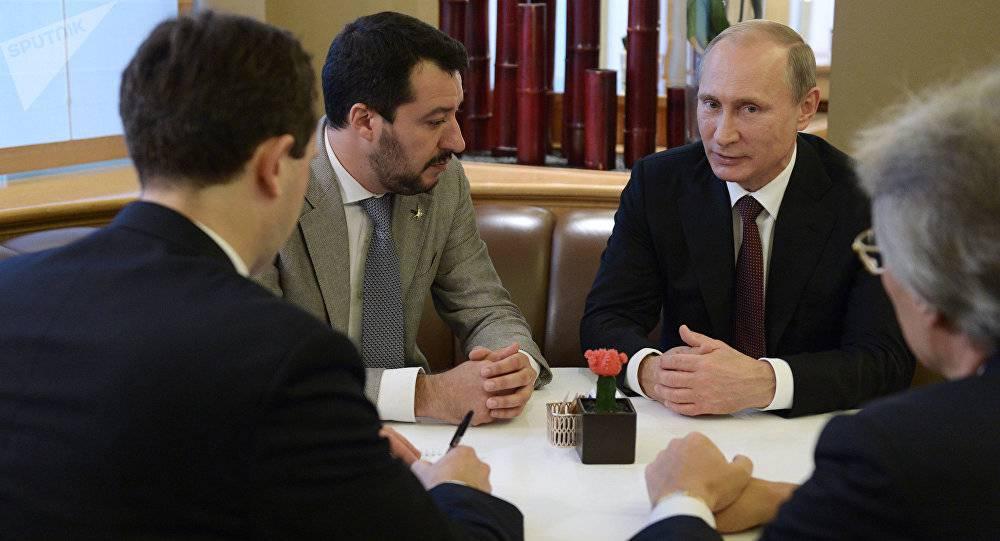 Putin e Salvini, l'europa ha paura