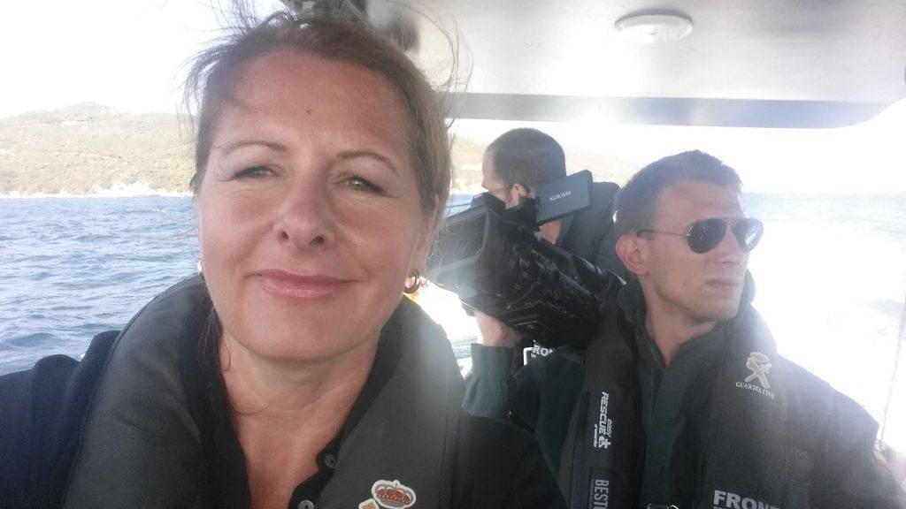 Open arms smentita da una giornalista tedesca