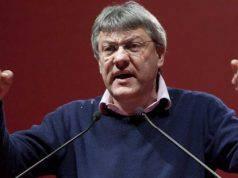 Maurizio Landini contro la Lega