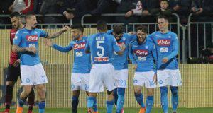 Cagliari-Napoli streaming