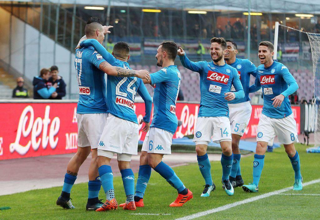Napoli-Frosinone streaming