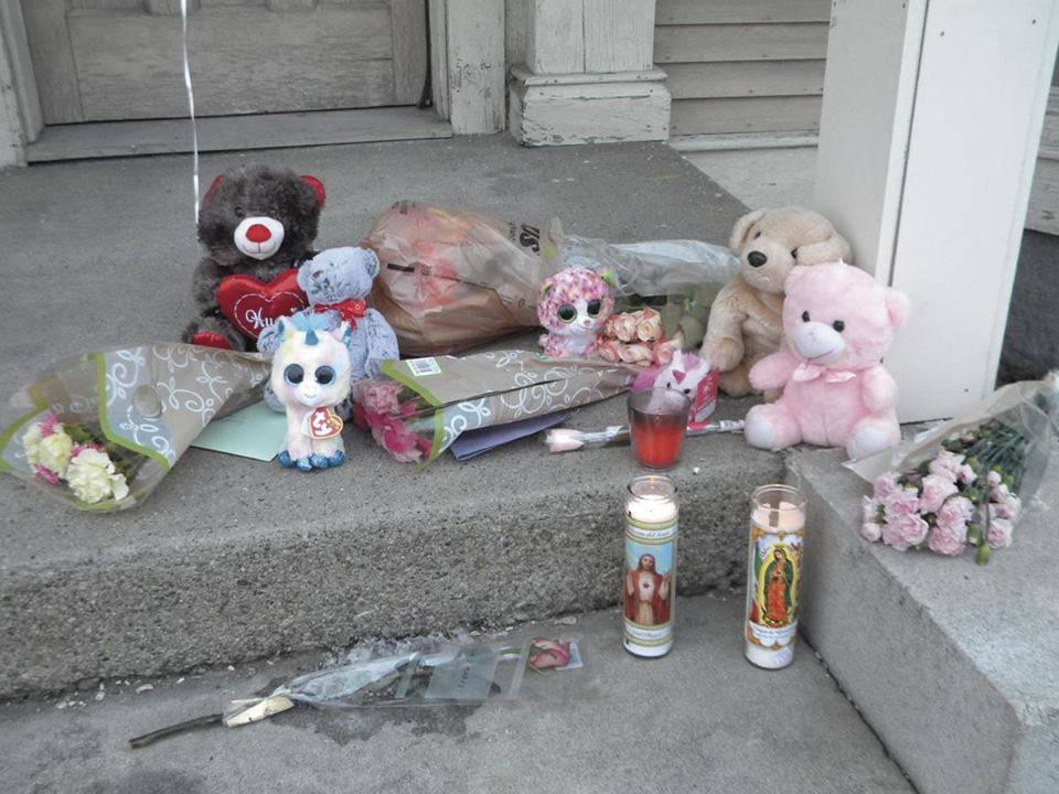 Sofia Van Schoick, due anni, muore di freddo