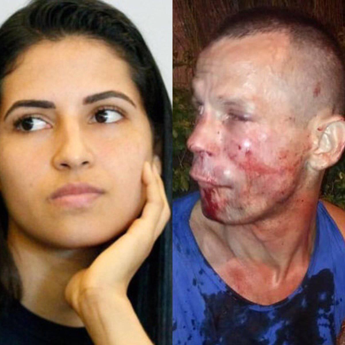 Tentativo di rapina a Polyana Viana