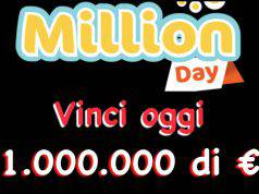 Estrazioni Million Day di oggi
