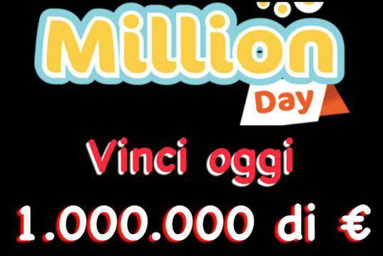Estrazioni Million Day di oggi