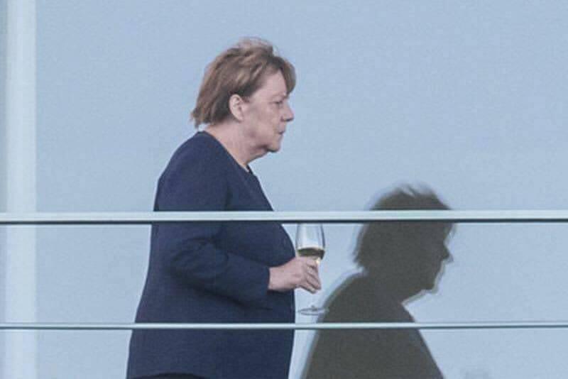 Angela Merkel e Schmidt direttore Uffizi