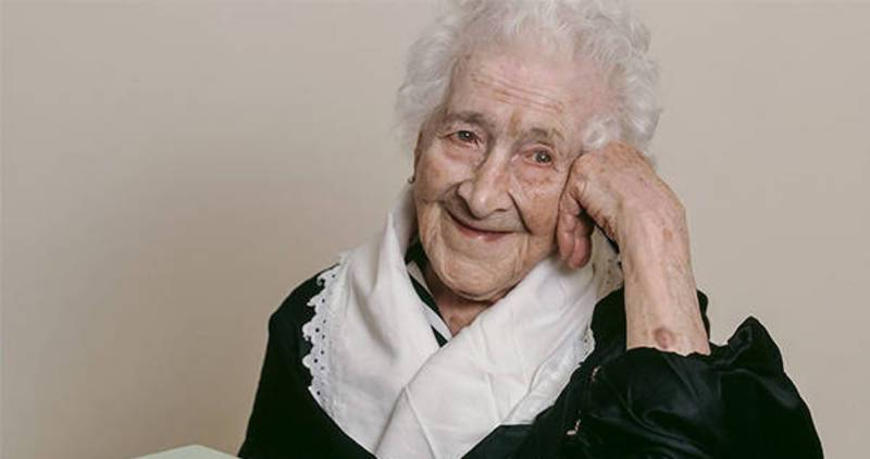 Jeanne Calment, 122 anni, è un falso