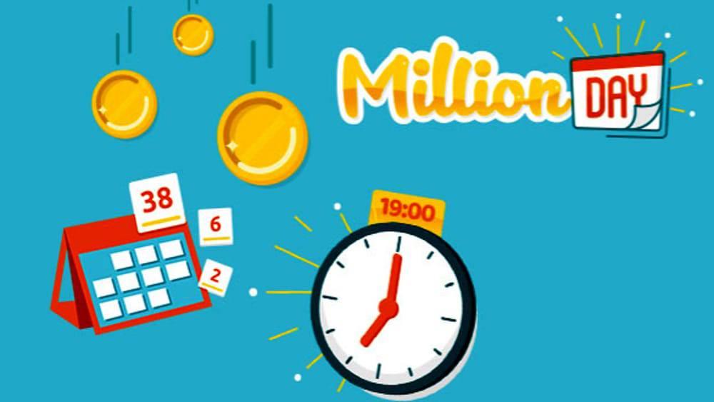 estrazione million day 11 aprile
