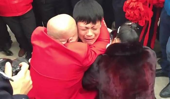 Cheng dopo trent'anni ritrova i genitori