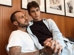 Corona con il figlio Carlos Maria