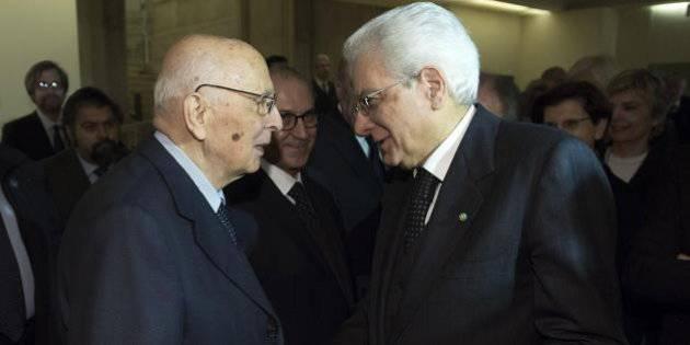 Il Presidente Mattarella Ringrazia Giorgio Napolitano - Leggilo