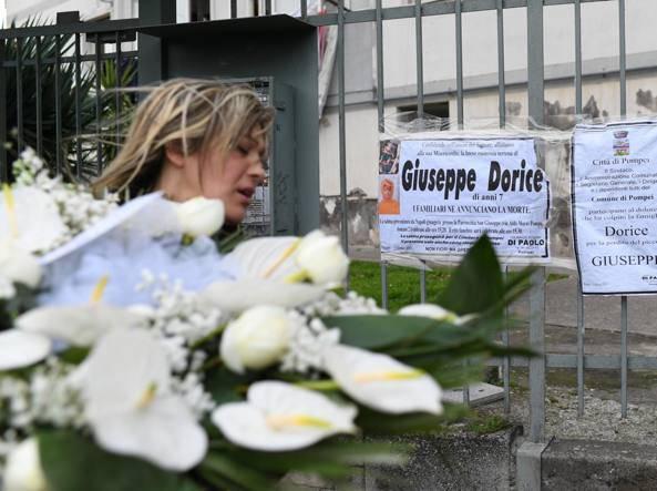 Cardito, funerali per il piccolo Giuseppe