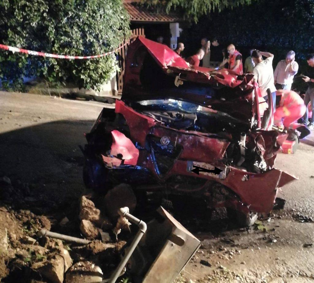 Alfa Romeo incidente - Leggilo