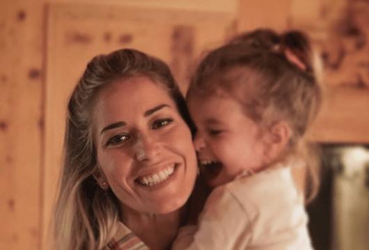 Elena Santarelli piange Marzia