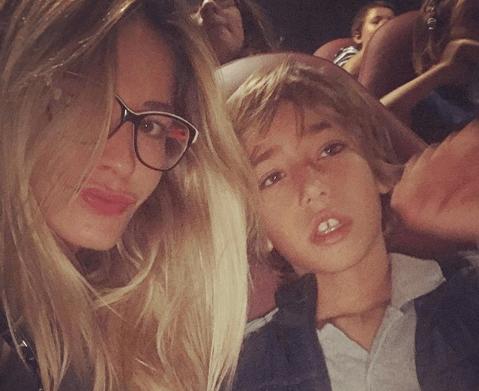 Elena Santarelli figlio malato di tumore