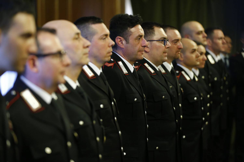 Roma carabinieri premiati