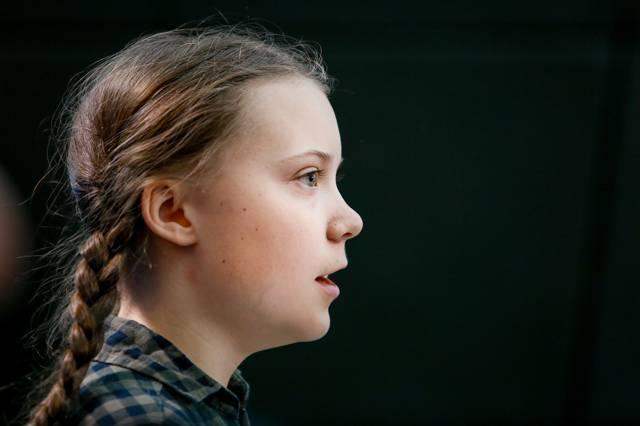 Greta Thunberg, burattino - Leggilo