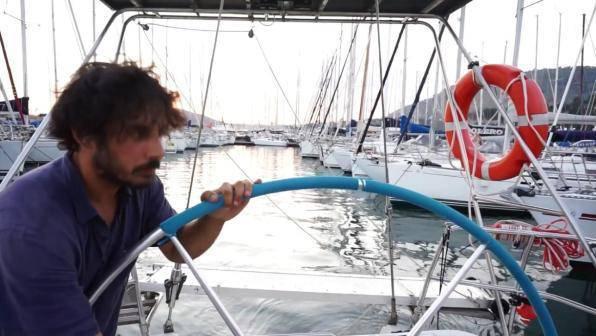 Luca Casarini e Stefano Tria sulla Mare Jonio - Leggilo