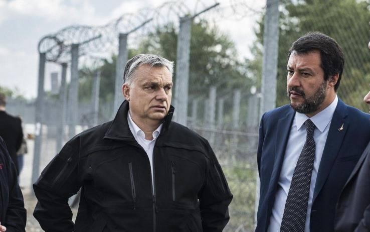 Salvini incontra orban - Leggilo