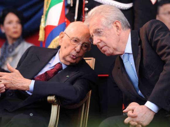 l'appello di Napolitano e Monti europee - Leggilo