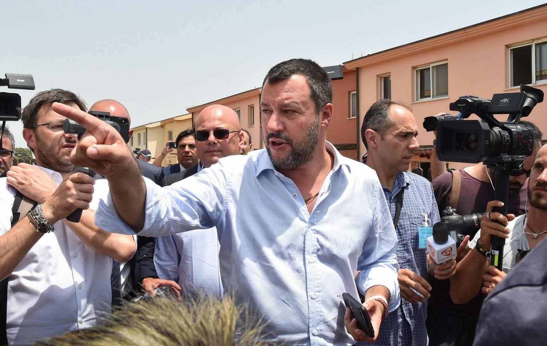 Salvini visita a Bibbiano polemiche - Leggilo
