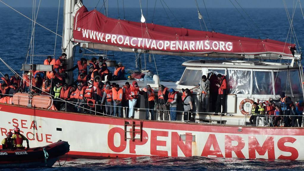 Open Arms Favoreggiamento immigrazione clandestina- Leggilo