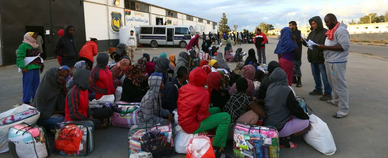 Libia liberati 350 migranti centro profughi - Leggilo