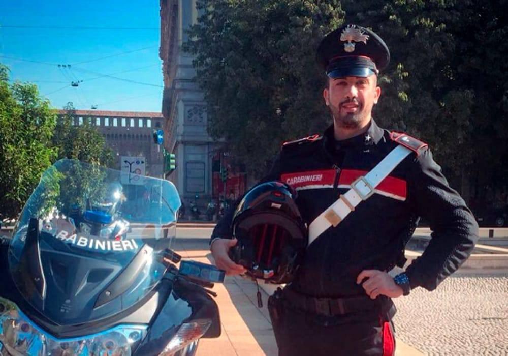 Simone Forgetta muore giovane carabiniere in un incidente stradale mortale in moto in corso Sempione a Milano - Leggilo