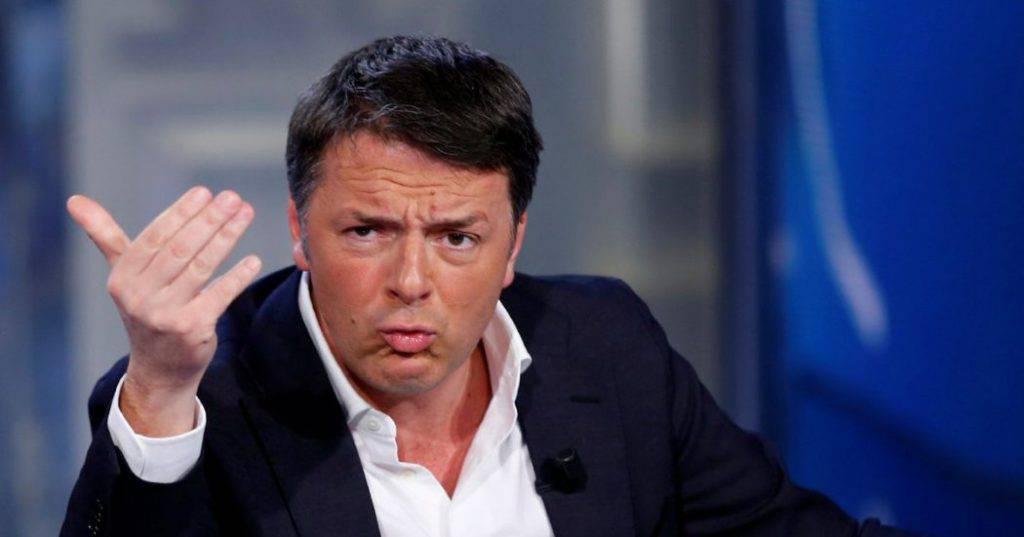 Matteo Renzi prima gli italiani garantire governo PD M5s occasione per mandare a casa i sovranisti Matteo Salvini - Leggilo