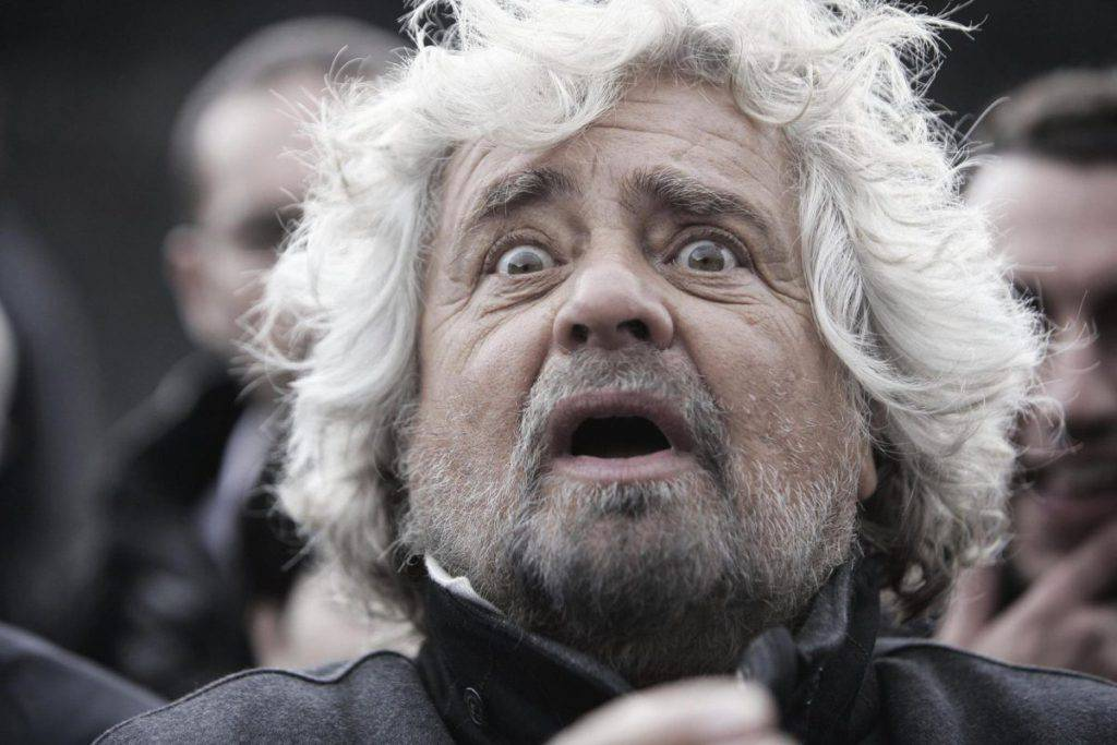 Beppe Grillo Matteo Renzi Matteo Salvini minchiata d'impulso post articolo blog - Leggilo