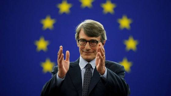 David Sassoli parla del governo PD-M5S in Europa