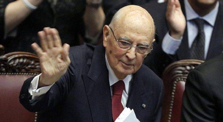 Giorgio Napolitano e la fiducia al nuovo governo