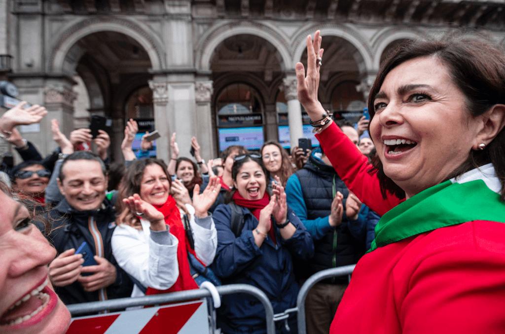 Laura Boldrini entra nel PD - Leggilo