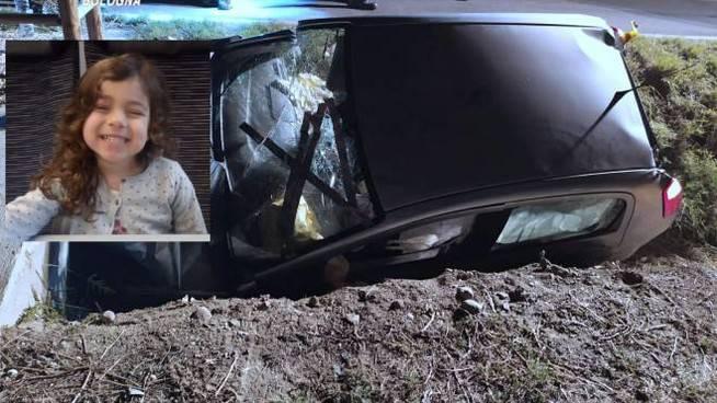 Aurora Andrisano muore a 4 anni in un incidente