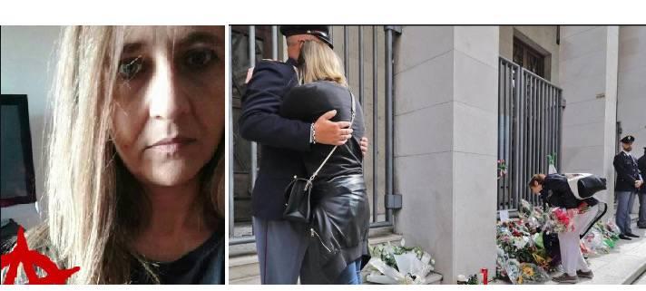 Poliziotti uccisi morti sparatoria Questura Trieste post choc utente persona donna social network Facebook Matteo Salvini - Leggilo