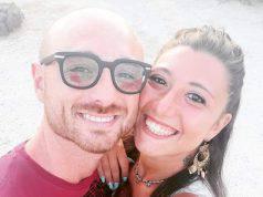 L'addio di Valentina a Matteo Demenego