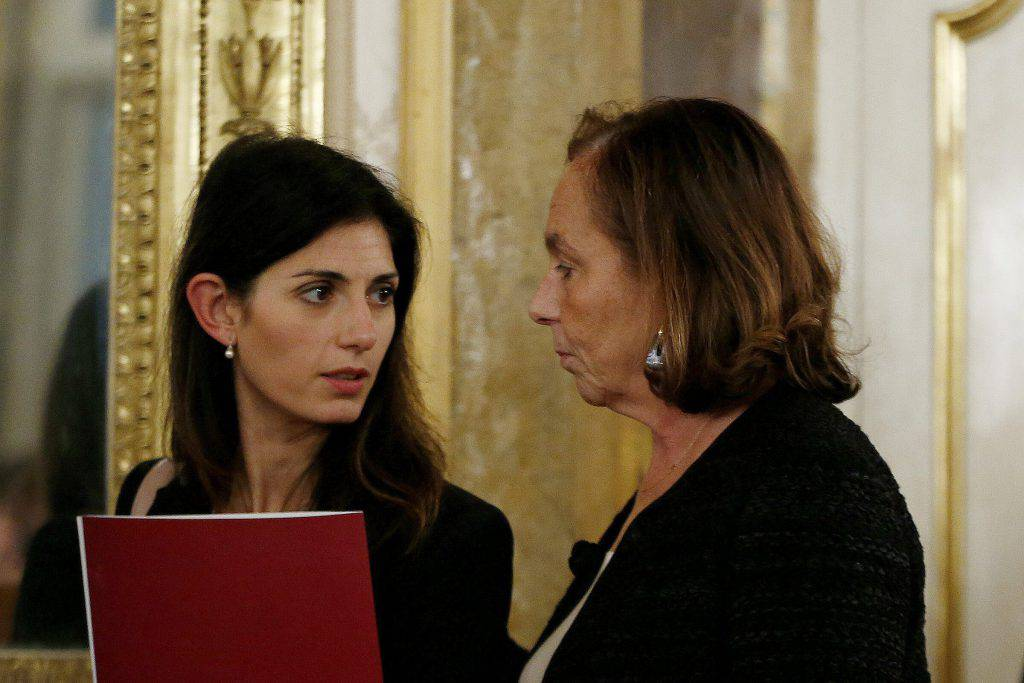 Ministro Lamorgese e sindaca Raggi-leggilo.org