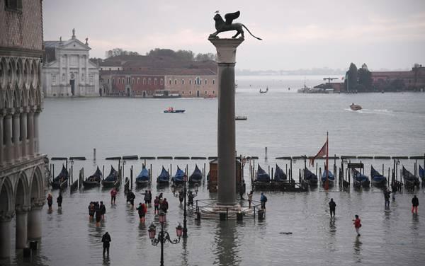 Venezia previsto nuova inondazione - Leggilo.org