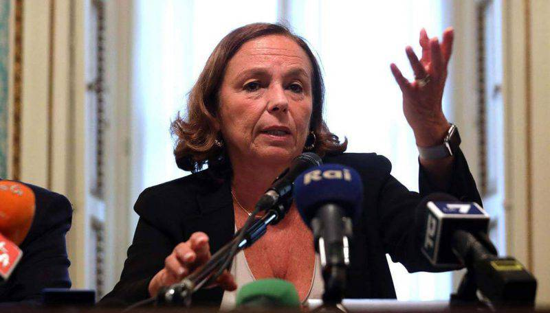 luciana lamorgese ong libia