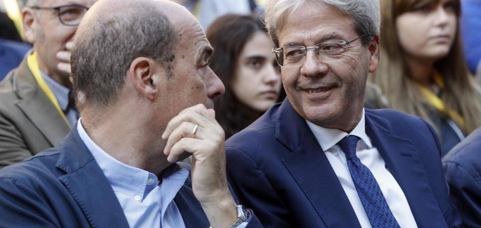 Gentiloni e Zingaretti rispondono a Salvini: