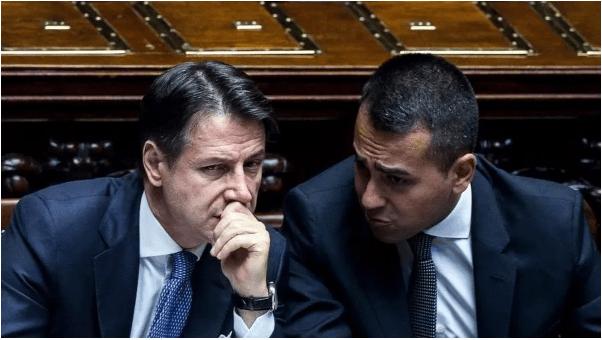 Conte Di Maio contro Salvini - Leggilo.Org